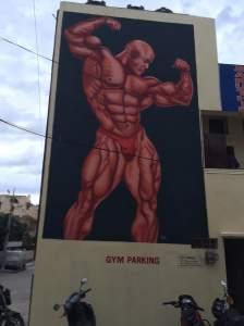 Bodybuild-Painting