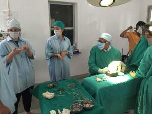 Dr. Reddy brings us into the operating room at Sivananda